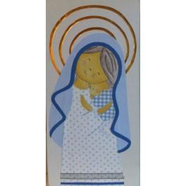Lienzo Virgen con niño