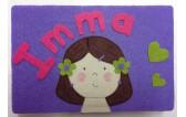 Caja niña+ nombre